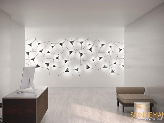 Beleuchtungsideen - Dieser moderne Wandleuchter verdoppelt sich als Wandkunst