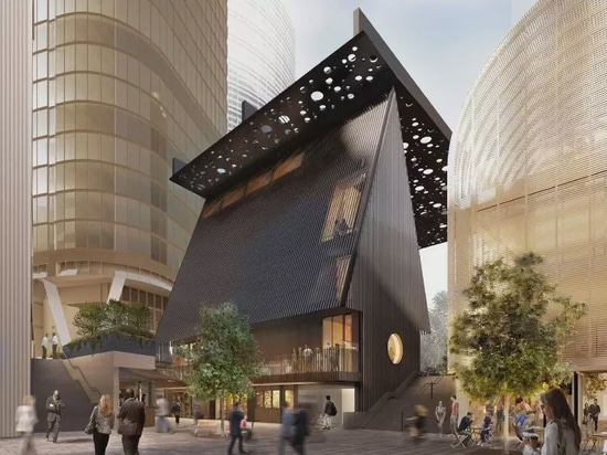 David Adjaye und Daniel Boyd arbeiten gemeinsam an einem öffentlichen Platz und Gebäude in Sydney