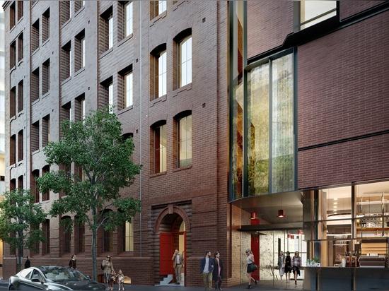 Historische Hutfabrik als modernes Hotel neu gestaltet