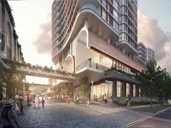 'Skulpturale Turmfamilie' für das vorstädtische Brisbane vorgeschlagen