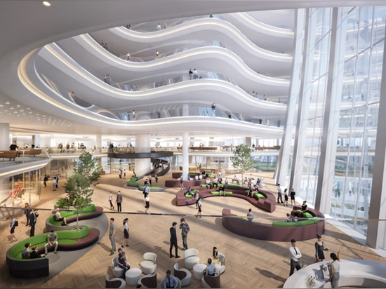Zaha Hadid Architects' länglicher Entwurf für den Hauptsitz des OPPO Shenzhen
