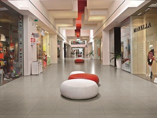 Shopping Centre Coné – Conegliano Veneto, Treviso – Italy - BUXY – PERLE