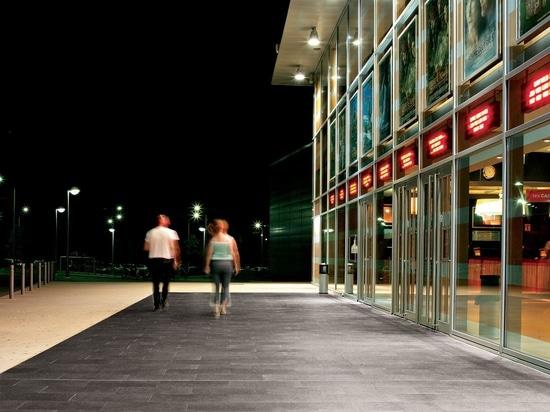 "Cinema multisala Multiplex "" Le Palace "" - Martigues, France- BUXY - Cendre / Caramel"