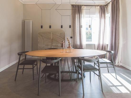 Heim, Familie, häusliche Intimität: Ritmonio für A + V Family House, ein Privathaus in Livorno.