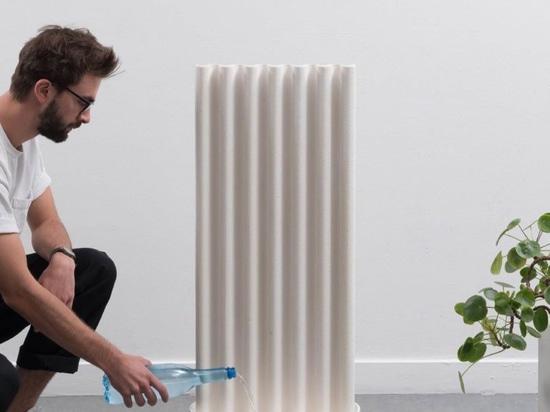 Dieser Luftbefeuchter bietet einen aggressiven, passiven Weg zur Wiedereinführung von Feuchtigkeit