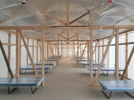 WTA Design 60 Notfallquarantäne-Einrichtungen zur Bekämpfung von COVID-19