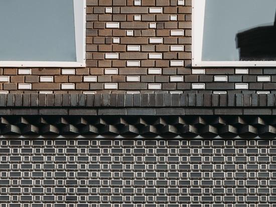 UNStudio erstellt pixelige Fassade für Louis Vuitton-Laden aus Glas und Stahlziegeln