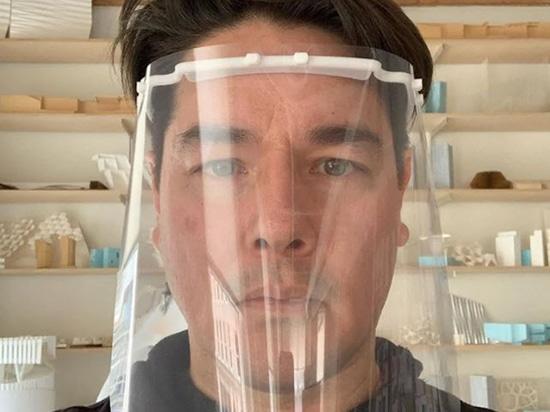 Bjarke Ingels Group und weitere Architekten 3D-Druck-Gesichtsschutz für medizinisches Personal mit Coronaviren
