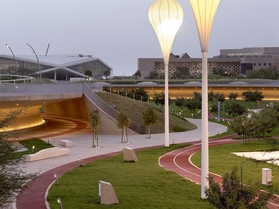 Der Oxygen Park in Katar ist das perfekte Gegenmittel gegen die Wüstenhitze