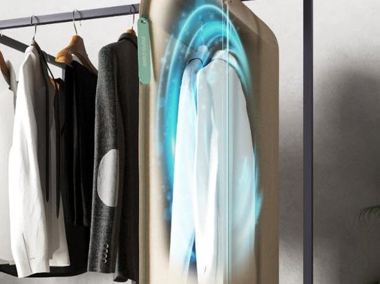 Pura-Case von Carlo Ratti verwendet Ozon zur Reinigung von Kleidung