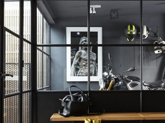 Ein Blick in Massimo Buster Minales industrie-inspiriertes Stockholmer Haus