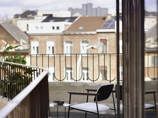 Penthouse des DMOA-Büros bietet endlose Inspiration für kleine Wohnungen