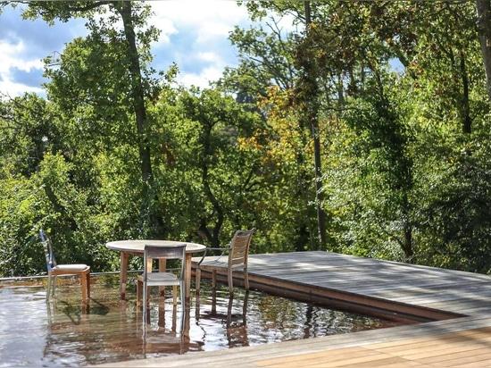 Aqualift in Zusammenarbeit mit Philippe Starck am Projekt P.A.T.H.