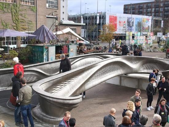MX3D-Brücke auf der Dutch Design Week 2018