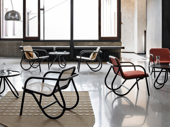 Dem N.200 Lounge Chair wird wieder neues Leben eingehaucht