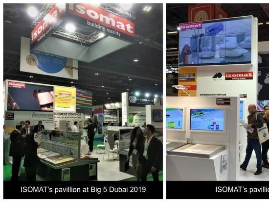 ISOMAT nahm an der BATIMAT, Big 5 Dubai und der National Painting and Decorating Show teil