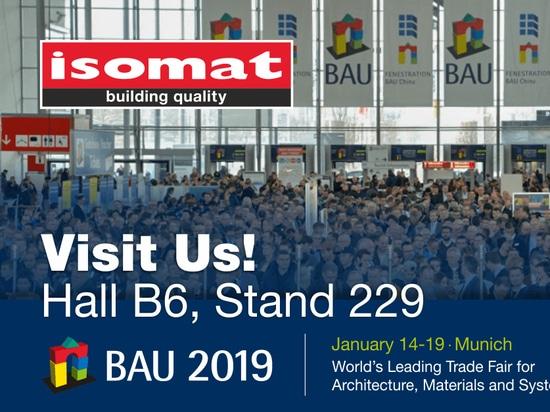ISOMAT auf der Internationalen Messe BAU 2019