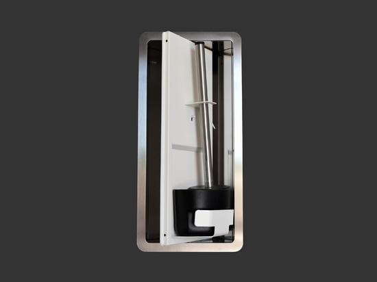 Eingebaute Badezimmer-Accessoires Serie TINO PAINTED