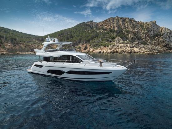 Stil und makellose Liebe zum Detail mit außergewöhnlicher Leistung: Taormina von Ritmonio für die neue Manhattan 68 Yacht von Sunseeker.