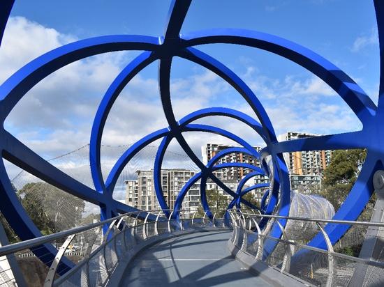 Lachlan's Line Bridge, Sydney, Australien