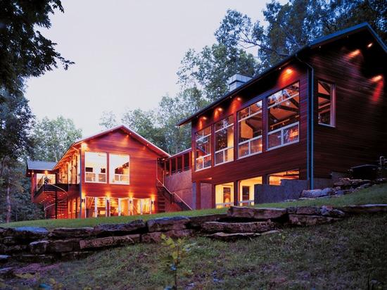 Ideen zur Renovierung des Landhauses mit Feinsteinzeug