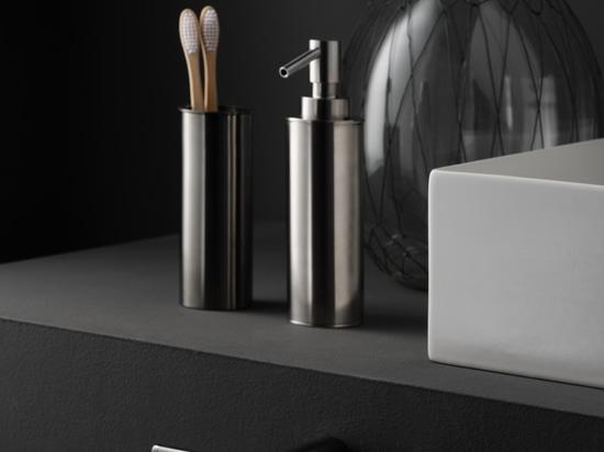 Eklektizismus, Dynamik und totale Kompositionsfreiheit: Ritmonio präsentiert ELEMENTA, die neue Zubehörserie, mit der die eine einzigartige und hochgradig personalisierte Badezimmerumgebungen schaf...