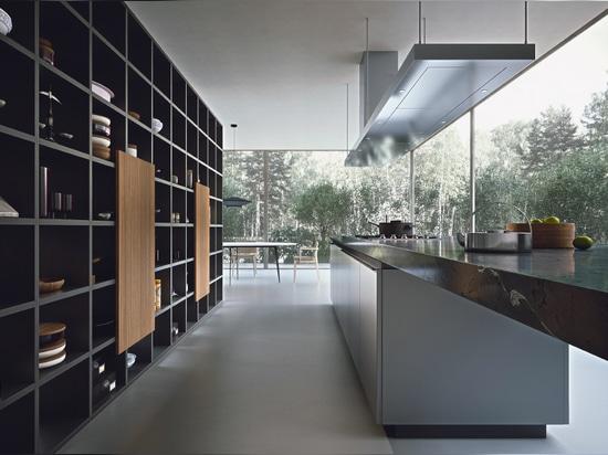 Selecta von Officinadesign Lema - Standardmäßig kundenspezifisch - Küche