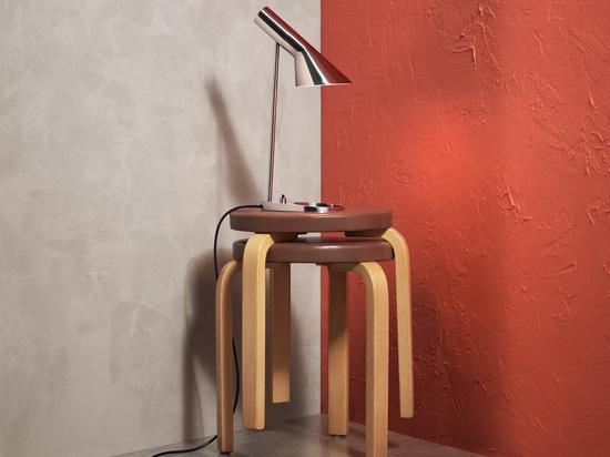 AJ Mini-Tisch in Edelstahl-Ausführung