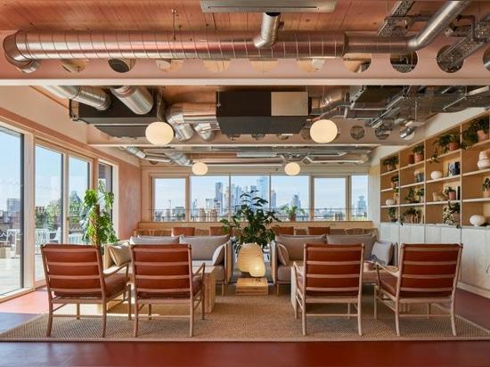 Das neue Londoner Büro von Waugh Thistleton setzt sich für Wohlbefinden ein