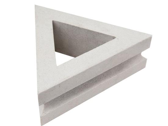 Breeze-Block - Dreieck: Die Schönheit der Balance