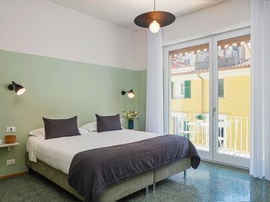 Ritmonio für La Casa delle Acciughe: ein Erlebnis luxuriöser Gastfreundschaft im Herzen von La Spezia, nur wenige Minuten von den Cinque Terre entfernt.