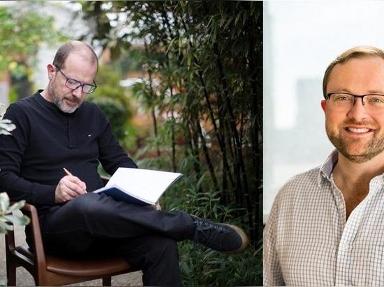 Aristeu Pires (links); Jonathan Durling (rechts)