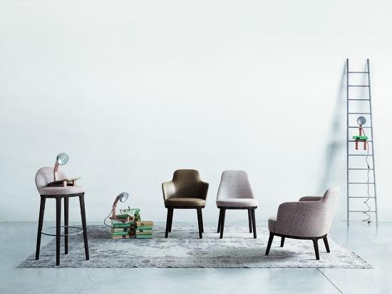 Sitzmöbel-Kollektion Lucylle von Roberto Lazzeroni