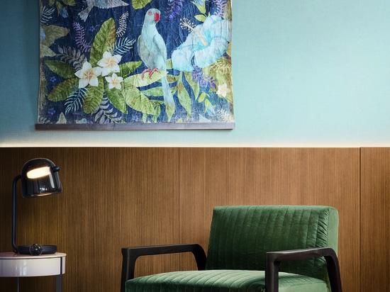 Tarsia Sessel, Entwurf von Matteo Nunziati
