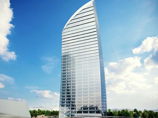 PETRAL Doppelböden - LIBESKIND TOWER Mailand