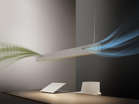 Pure BioAir, eine Lampe von Olev, die Innenräume desinfiziert. Mit freundlicher Genehmigung von Olev