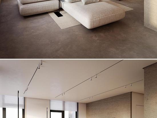 LED-Beleuchtung lässt dieses Bett wie schwebend erscheinen