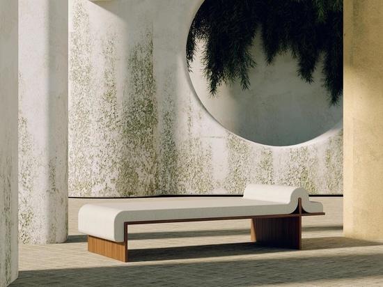 Spiegel und Möbel scheinen in der neuesten Sammlung aus den Bower Studios zu verschmelzen
