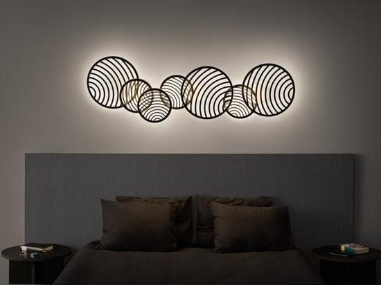 Collage-Design von Santiago Sevillano Studio für Mantra.