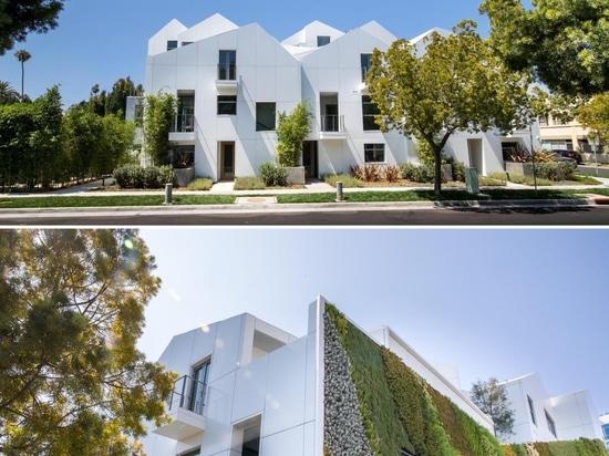 Dieses Wohnhaus wurde so entworfen, dass es einem modernen Dorf in den Bergen ähnelt