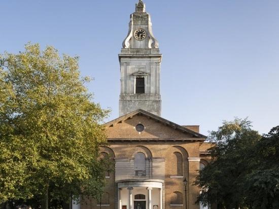John Pawson leitet die Neugestaltung der St John at Hackney Church in London
