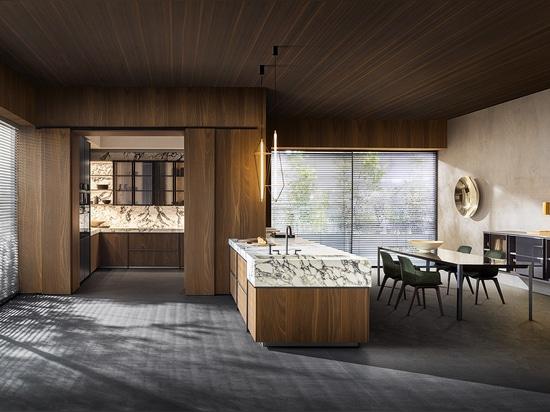Molteni's Ratio Küchen- und Esszimmerkollektion, entworfen von Vincent Van Duysen.