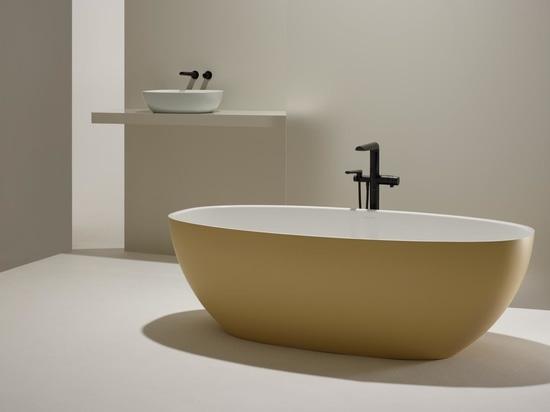 Drei neue Farbpaletten für das Bad, die für das Wohnen mit Schloss konzipiert sind