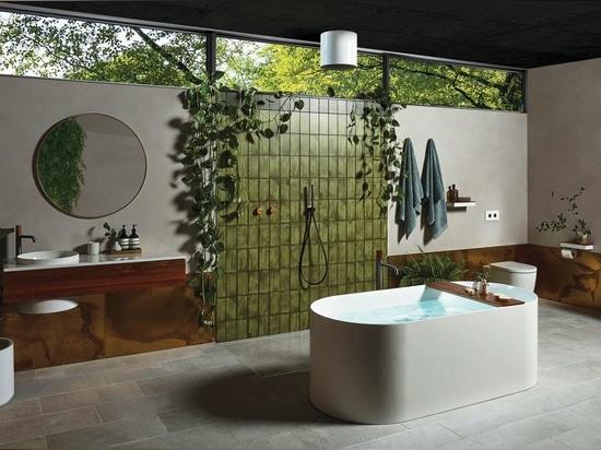 Elvire-Badkollektion, die bei den jüngsten Good Design Awards in Australien 2020 mit Gold ausgezeichnet wurde.