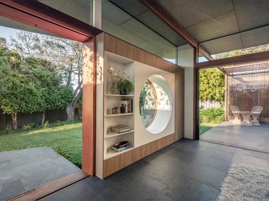 Kreise sind ein Designthema, das sich durch das ganze Haus zieht