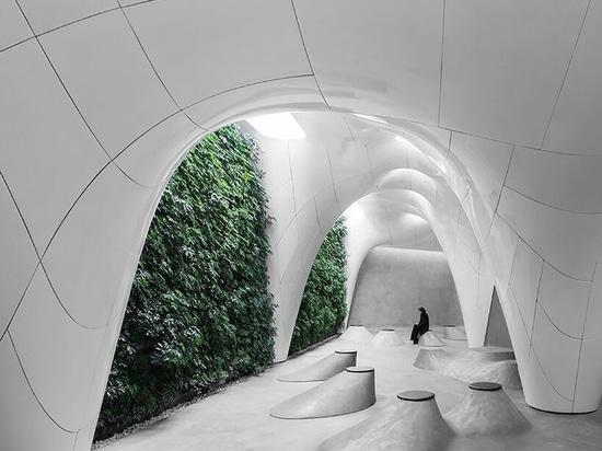 Eishöhle von Omid Amini und Fatemeh Salehi Amiri