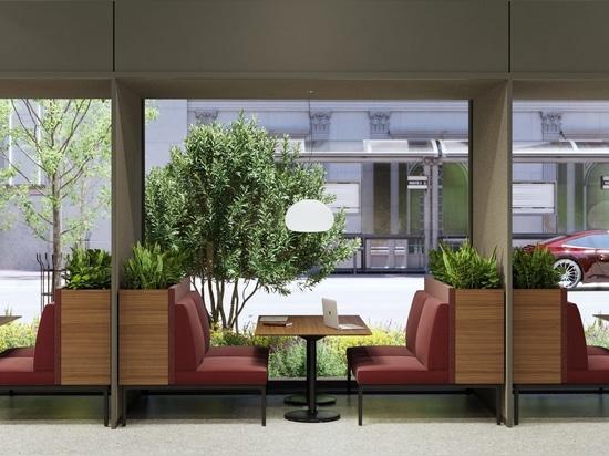 Modulare Möbel von Stylex adressieren die Zukunft des Arbeitsplatzes