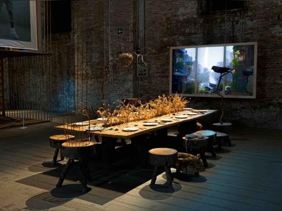 Refuge for Resurgence, auf der Architekturbiennale Venedig 2021. Fotografie: Giorgio Lazzaro