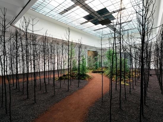 Invocation for Hope im Museum für angewandte Kunst im Rahmen der Vienna Biennale for Change 2021. Fotografie Gregor Hofbauer