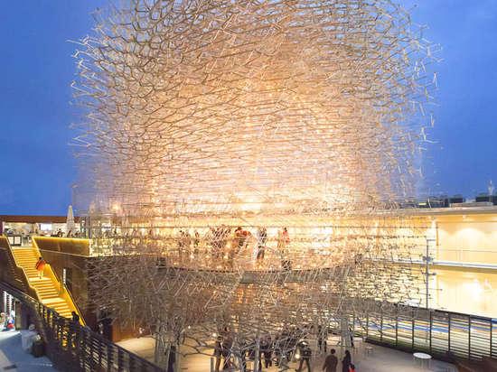 Exponentialer Erfolg: BRITISCHER Pavillion wird gut im Erscheinen an Mailand-AUSSTELLUNG 2015 gekrönt